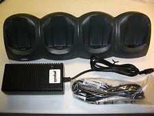 SYMBOL CRD1700-4000E SPT1800 SPT1700 COMPLETE KIT: 4-SLOT CRADLE+CHARGER+CABLES