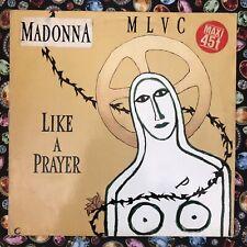 "MADONNA LIKE A PRAYER RARE 12"" GERMANY MAXI SINGLE - Collector Item"