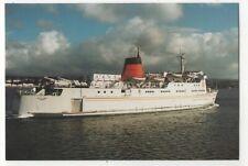 Isle Of Man MV King Orry Postcard Steamships 078c