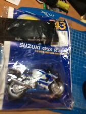 SUZUKI GSX R750 1:18 MAISTO DIE-CAST  MODEL MOTORBIKE No 43 SCARCE  NEW