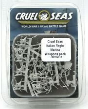 Cruel Seas 785002014 Italian Regio Marina Weapons Pack (1:300) Conversion Bits