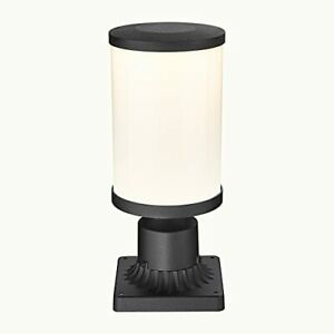 Hopejoy Outdoor Post Light 18W LED Exterior Post Lantern with 3-Inch Pier Mou...