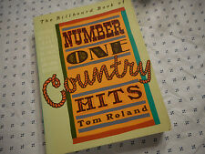 The Billboard Book of Number One Country Hits by Tom Roland (1991, Paperback)