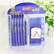 1 Set Blue Ink Magic Erasable Pen Refill Gel Pen Office School Stationery