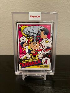 TOPPS PROJECT 70 - #357 - Mike Trout by Ermsy - Artist Proof /51 IN HAND