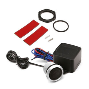 12V Car Engine Starter Keyless Entry Push Button Lgnition Switch LED Light Part