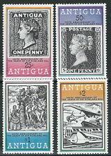 Antigua & Barbuda - 100 Todestag Rowland Hill Satz postfrisch 1979 Mi. 529-532