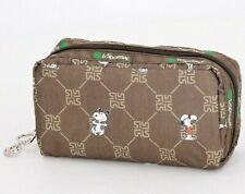 Lesportsac Japan Exclusive Peanuts Snoopy U034 Makeup Rectangular Cosmetic Bag