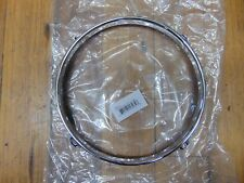 "New 2.3 Chrome Drum Hoop, 8""- 4  Hole/Lug, Tom Worldwide Shipping"