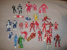 Mixed Lot  27 of Bandai Mighty Morphin Power Rangers Action Figures