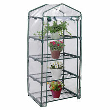4 Shelves Green house Portable Mini Outdoor Green House Brand  New