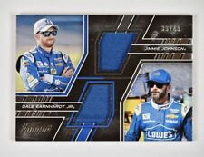 2017 Panini Torque Pairings Materials #15 Dale Earnhardt Jr Jimmie Johnson /49