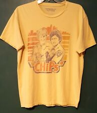 CHIPS the TV SHOW ~PONCH AND JON~ Vintage T-Shirt - Size: LARGE