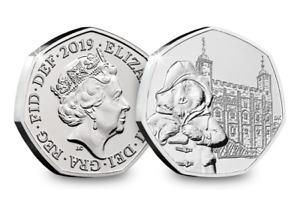 BOGOF 50p Paddington Bear at Tower of London-Fifty Pence-2019 New Uncirculated