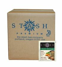 Stash Tea Organic Black and Green Tea Bags in Foil Chai Spice 1... Free Shipping
