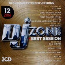 DJ ZONE BEST SESSION 12/2016 doppio CD unmixed selection per DJ originale NUOVO