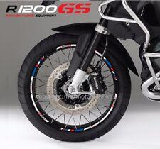 BMW R1200GS Adventure motorcycle wheel decals stickers rim stripes R1200 GS gsa