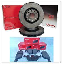 BREMBO Bremsen Kit MAX LINE Bremsscheiben + Bremsbeläge  Set vorne 312 mm Set