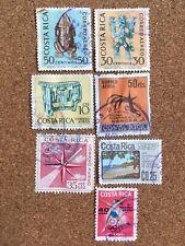 Costa Rica Stamp Set. Franked Correo Aereo. Olympics