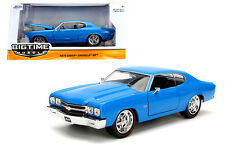 Jada Chevrolet Chevelle SS 1970 Blue 1/24
