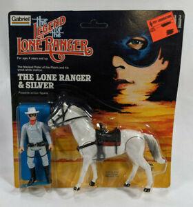 Gabriel Legend of Lone Ranger Lone Ranger & Silver Action Figure Set - Sealed