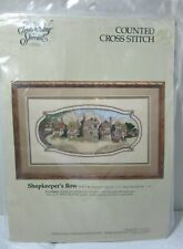 Candamar Victorian Shopkeeper's Row Counted Cross Stitch Kit - 50472 Something