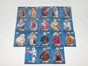 2016 Star Wars The Force Awakens Series 2 - 18 CARD STICKER SET - MINT