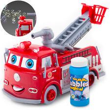 Feuerwehrauto mit Seifenblasen und Sound KP1565  Feuerwehr Truck Auto Spielzeug