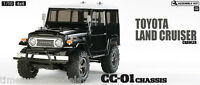 Tamiya 58564 Toyota Land Cruiser Black Body - RC Kit + ESC + Stick Radio