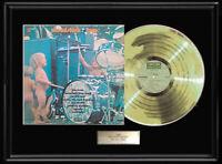 WOODSTOCK TWO SOUNDTRACK LP WHITE GOLD SILVER  PLATINUM TONE RECORD RARE!