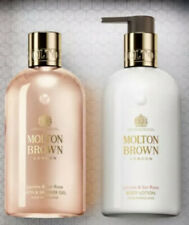 Molton Brown Jasmin & Sun Rose Body Bath & Shower Gel And Lotion Set 300ml