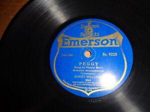 "1919 EMERSON 9"" 78/Sterling Trio//Henry Burr/E!"