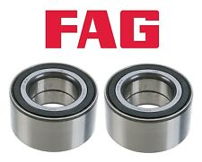 For BMW E53 E60 E90 Set of Two Front Wheel Bearings 90x49x45 mm OEM 31226783913