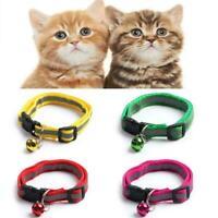 Verstellbares Breakaway Nylon Cat Sicherheitshalsband mit für Cat Glocke B5I1