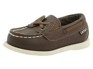 Carter's Toddler Boy's Bauk Brown Loafers Boat Shoes Sz. 5T