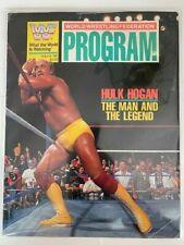 WWF World Wrestling Federation Program Volume #182 1990 Hulk Hogan Demolition