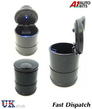 Car Home Office Portable Cigarette Smoke LED Light Ash tray Holder Cup Bucket