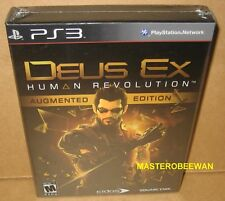 Deus Ex: Human Revolution Augmented Edition New Sealed (PlayStation 3, 2011) PS3