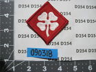 US Army color patch 4th ARMY m/e FREE SHIP