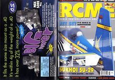 RADIO CONTROL MODELS & ELECTRONICS MAGAZINE 2002 JUN F15 EAGLE FREE PLANS