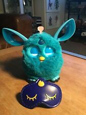 Furby connect Blue with snooze mask 2015