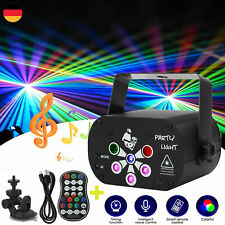 240 Muster RGB LED Laser Projektor Light Bühnenlicht USB Party DJ Disco Lampe DE