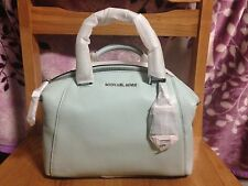 Celadon Micheal Kors Riley Leather Satchel Handbag (New with Tags)
