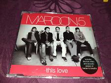 Maroon 5 / This Love - Maxi CD