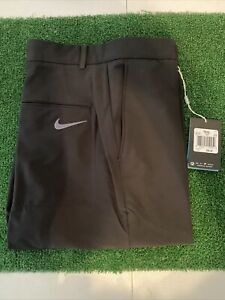 new mens nike golf pants 32 x 30 Nwt Black