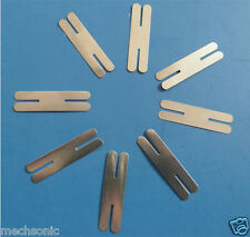 200pcs H-type Nickel Plated Steel Strip Sheets Tabs for battery welder S