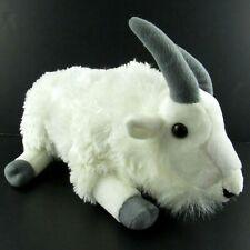 "Wild Republic Mountain Goat Plush White Stuffed Animal Toy 12"" Cuddlekins"
