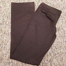 Zara Basic Pants Women's Size 8 31 x 34 Brown Boot Cut Cotton