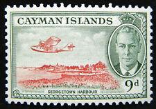 Cayman Islands Stamp 1950 9d King George VI Scott # 130 SG143 MINT OG H
