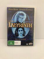 Jim Henson's Labyrinth David Bowie Deluxe Edition, 2 Discs, Region 4 (Pal)